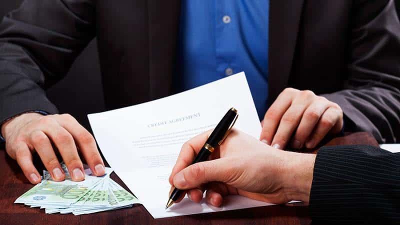 Оплата помощи кредитного брокера