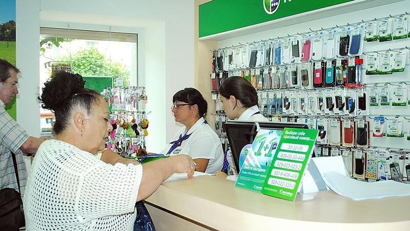 Проверка задолженности Мегафон по лицевому счету в салоне