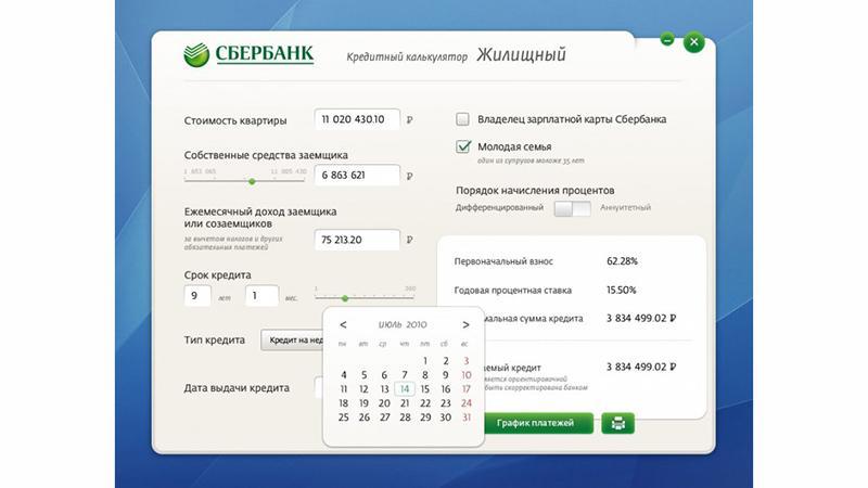Кредитный калькулятор: узнать задолженность по кредиту Сбербанка через интернет