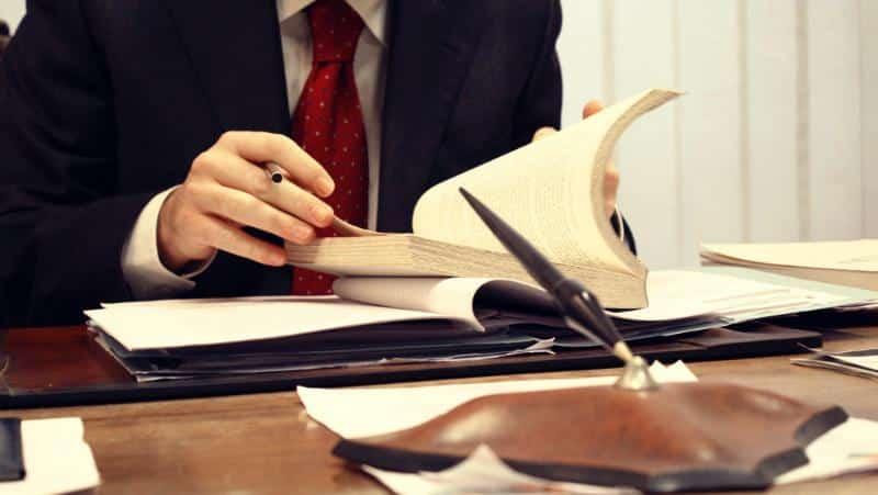 подписывание бумаг