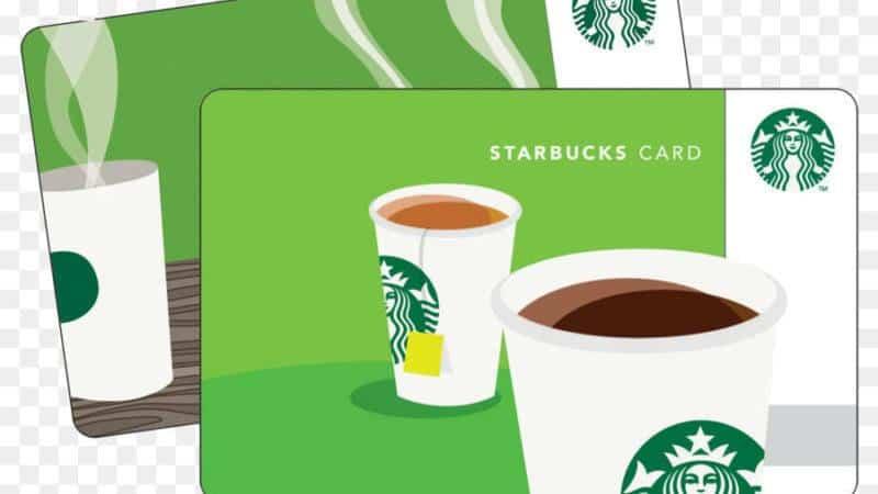 Программа лояльности Старбакс - карта со звездами
