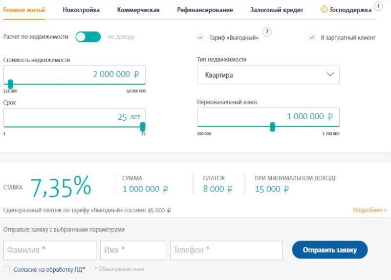 Условия и порядок оформления ипотеки в Транскапиталбанке