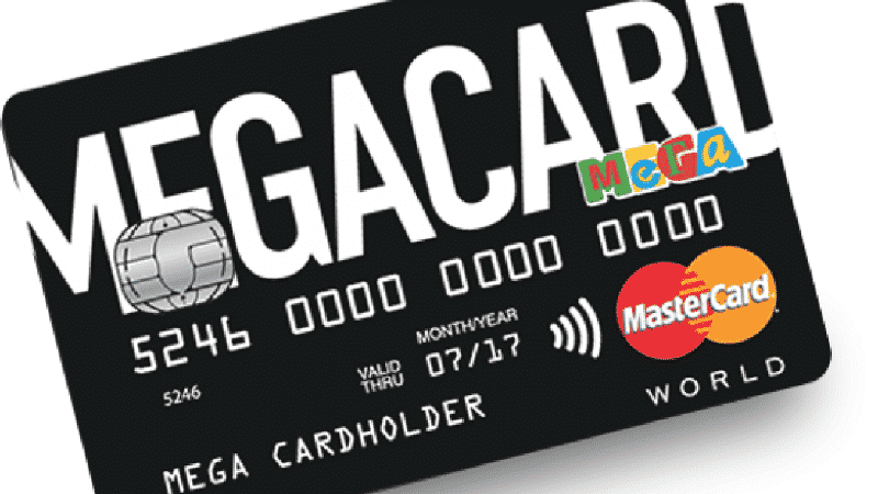 Как стать держателем карты MEGACARD