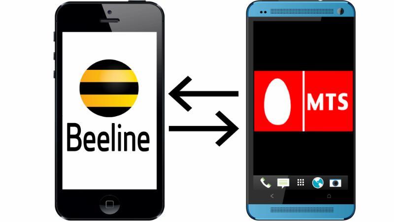 Перевести деньги с Билайна на телефон МТС бесплатно без комиссии через смс