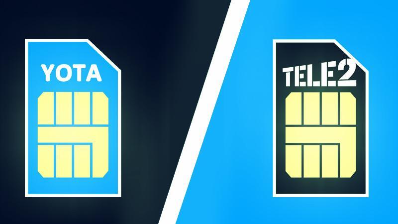 Перевод денег с Yota на Теле2 через телефон
